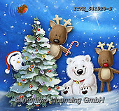 Isabella, CHRISTMAS ANIMALS, WEIHNACHTEN TIERE, NAVIDAD ANIMALES, paintings+++++,ITKE541928-S,#xa#<br />