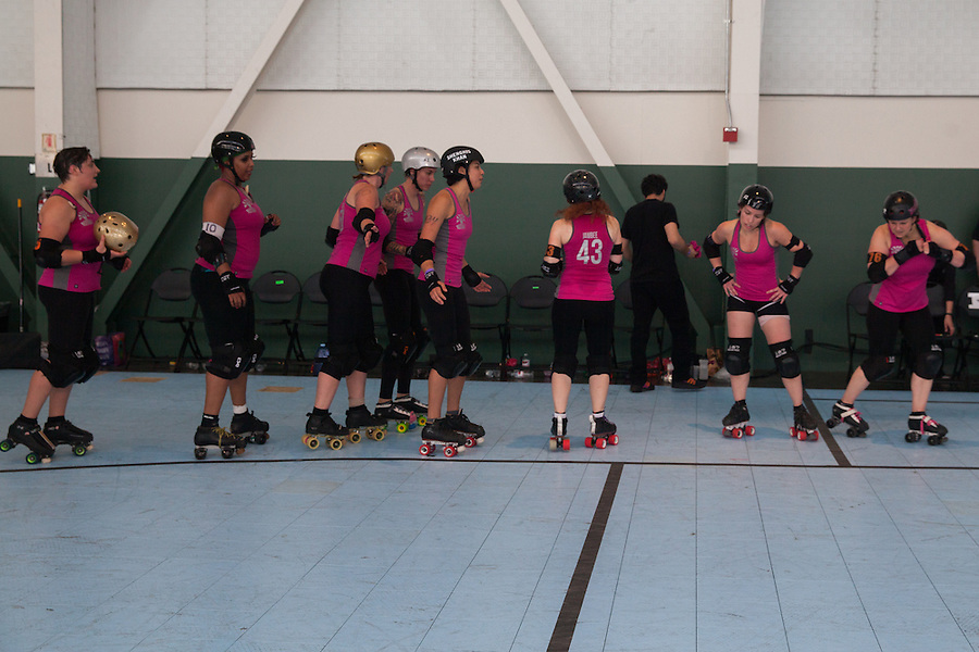 The San Francisco ShEvil Dead and the Berkeley Resistance  opened the Bay Area Derby Girls 2015 season at the Craneway Pavilion in Richmond, CA on March 14, 2015. Berkeley won 259-122.