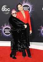LOS ANGELES, CA - NOVEMBER 24: WATT (L) and Ali Tamposi attend the 2019 American Music Awards at Microsoft Theater on November 24, 2019 in Los Angeles, California, USA.<br /> CAP/ROT/TM<br /> ©TM/ROT/Capital Pictures
