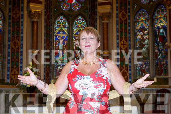 Killarney Soprano Mary Culloty O'Sullivan at her concert in St Mary's church Killarney on Friday night