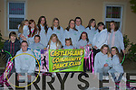 COMMUNITY: Castleisland Community Dance Club who danced in the Samhai?ocht Easter Parade on Siunday night. Front l-r: Ciara O'Sullivan, Ann Marie O'Connor, John Paul O'Brien, Amy O'Sullivan, Nikia O'Brien, Jacinta O'Brien, Sally Enright, Becky Hussey, Danny O'Sullivan, Vicky O'Sullivan, L:ynsey Kelly, Mary Teahan Moynihan, Aisling and Laura Cronin, Shannon Donnelly, Rachel O'hara and Christine Moore...