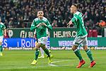 08.03.2019, Weser Stadion, Bremen, GER, 1.FBL, Werder Bremen vs FC Schalke 04, <br /> <br /> DFL REGULATIONS PROHIBIT ANY USE OF PHOTOGRAPHS AS IMAGE SEQUENCES AND/OR QUASI-VIDEO.<br /> <br />  im Bild<br /> <br /> jubel Milot Rashica (Werder Bremen #11) zum 3:1<br /> <br /> Foto &copy; nordphoto / Kokenge