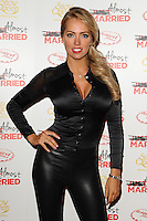 """Aisleyne Horgan Wallace arives for the """"Almost Married"""" Gala Screening at the Mayfair Hotel, London. 26/03/2014 Picture by: Steve Vas / Featureflash"""