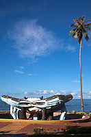 Kep Crab Statue - The symbol of Kep and the Kep Coast since crab is the area's most renowned product.