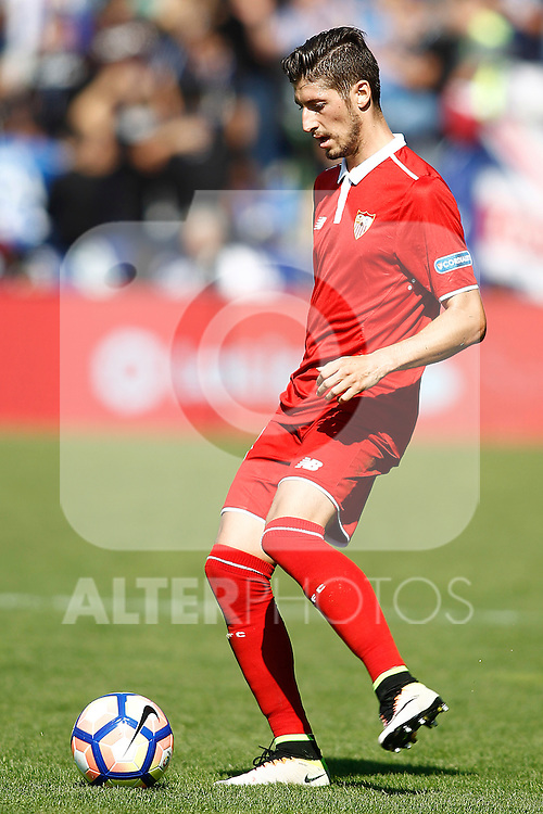 Sevilla FC's Sergio Escudero during La Liga match. October 15,2016. (ALTERPHOTOS/Acero)