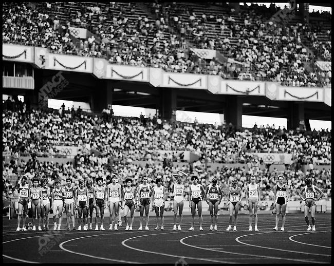 5000m, women, Summer Olympics, Seoul, South Korea, September 1988