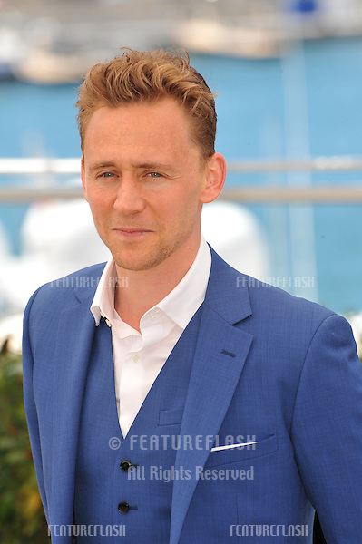 """Tom Hiddleston at photocall at the 66th Festival de Cannes for his movie """"Only Lovers Left Alive""""..May 25, 2013  Cannes, France.Picture: Paul Smith / Featureflash"""