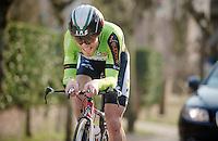 3 Days of De Panne.stage 3b: De Panne-De Panne TT..Maxime Vantomme (BEL)..