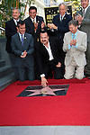 LOS ANGELES -JUL 26:  Jose Huizar, Pepe Aguilar, Eric Garcetti, Leron Gubler, Neil Portnow at a ceremony honoring Pepe Aguilar with a Star on The Hollywood Walk of Fame on July 26, 2012 in Los Angeles, California