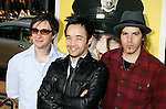"HOLLYWOOD, CA. - April 06: Hoobastank arrives at the Los Angeles premiere of ""Observe and Report"" at Grauman's Chinese Theater on April 6, 2009 in Hollywood, California."