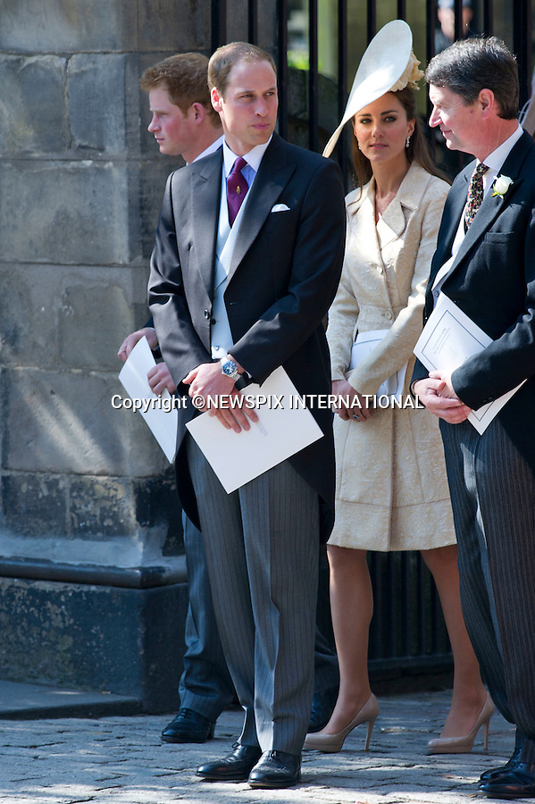 """Catherine Duchess of Cambridge ..ROYAL WEDDING..The wedding of Zara Phillips and Mike Tindall..The couple along with family and friend attend Canongate Church for their wedding. Canongate Church, Edinburgh, Scotland_30/07/2011..Mandatory Photo Credit: ©Dias/Newspix International..**ALL FEES PAYABLE TO: """"NEWSPIX INTERNATIONAL""""**..PHOTO CREDIT MANDATORY!!: NEWSPIX INTERNATIONAL(Failure to credit will incur a surcharge of 100% of reproduction fees)..IMMEDIATE CONFIRMATION OF USAGE REQUIRED:.Newspix International, 31 Chinnery Hill, Bishop's Stortford, ENGLAND CM23 3PS.Tel:+441279 324672  ; Fax: +441279656877.Mobile:  0777568 1153.e-mail: info@newspixinternational.co.uk"""