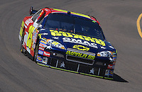 Apr 19, 2007; Avondale, AZ, USA; Nascar Nextel Cup Series driver Casey Mears (25) during practice for the Subway Fresh Fit 500 at Phoenix International Raceway. Mandatory Credit: Mark J. Rebilas