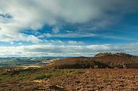 Auchterhouse Hill from Baluuderon Hill near Dundee, Tayside