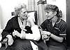 Nurse & elderly woman, City Hospital, Nottingham UK 1991