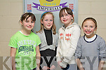SUPPORT: Supporting the Tralee Imperials basketball team at the Tralee Sports complex on Saturday l-r: Rachel Ryan, Emma Carmody, Grace Myers and Rachel Kilgallen.