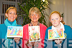 CHRISTMAS CARDS LAUNCH: Launching the Kerry Hospice Foundation 2009 Christmas Card Collection sponcered by Kerry Group at the Palliative Care Suite at Kerry General Hospital on Monday l-r: Nina Finn-Kelcey (artist), Marie Claire Stacey (committee member) and Aine Daly (artist)..