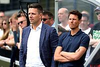GRONINGEN - Voetbal, Eerste training FC Groningen, Corpus den Hoorn, seizoen 2019-2020, 22-06-2019, Wouter Bodde en Mark Jan Fledderus