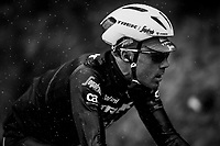 Markel Irizar (ESP/Trek-Segafredo) racing along in the shower<br /> <br /> 76th Paris-Nice 2018<br /> Stage 8: Nice > Nice (110km)