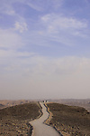 Israel, Judean Desert, Moav Outlook in Arad