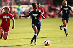 2014 BYU Women's Soccer at Utah
