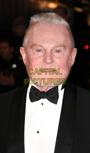 "DEREK JACOBI.World Premiere of ""Bunch of Amateurs"" at the Odeon, Leicester Square London, England, November 17th 2008..portrait headshot black tuxedo bow tie DJ white shirt beard stubble facial hair .CAP/ROS.©Steve Ross/Capital Pictures"