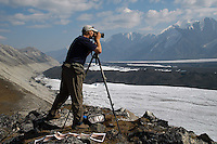 Repeat photography of Muldrow Glacier in Denali National Park by Ron Karpilo