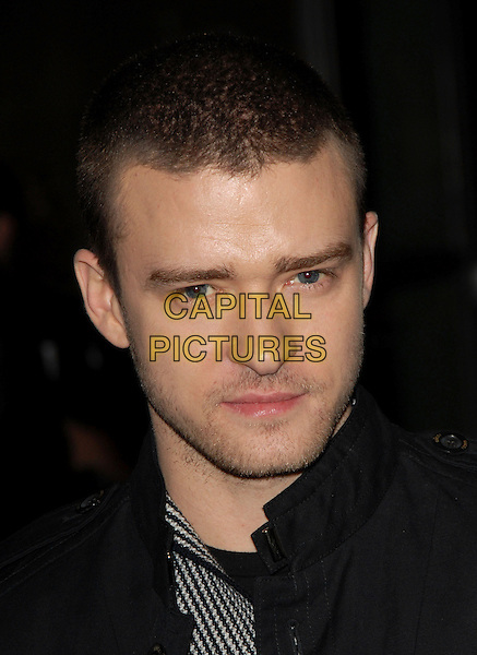"JUSTIN TIMBERLAKE.Universal Pictures World Premiere of ""Alpha Dog"" held at The Arclight Theatre in Hollywood, California, USA. .January 3rd, 2007.headshot portrait stubble facial hair .CAP/DVS.©Debbie VanStory/Capital Pictures"