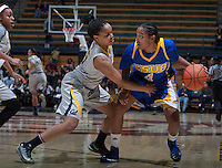 Brittany Boyd of California in action during the game against Bakersfield at Haas Pavilion in Berkeley, California on December 15th, 2013.  California defeated Bakersfield Roadrunners, 70-51.