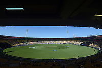 3rd November 2019, Wellington, New Zealand;  General View of the Westpac Stadium during the second T20 International game between New Zealand and England, Westpac Stadium, Wellington, Sunday 3rd November 2019.  - Editorial Use