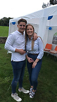 Pictured: Jack Moore (L)<br /> Re: Three people have survived after a a light aircraft crashed on to a main road on the A40 near Abergavenny, Monmouthshire.<br /> Stuart Moore, Jack Moore and Billie Manley were treated at the scene for minor injuries and taken to hospital as a precaution.<br /> Two motorists, Daniel Nicholson and Joel Snarr, a former army bomb disposal officer, helped to rescue those on board the aircraft.