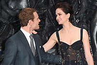 Michael Fassbender and Katherine Waterston<br /> at the &quot;Alien:Covenant&quot; world premiere held at the Odeon Leicester Square, London. <br /> <br /> <br /> &copy;Ash Knotek  D3260  04/05/2017