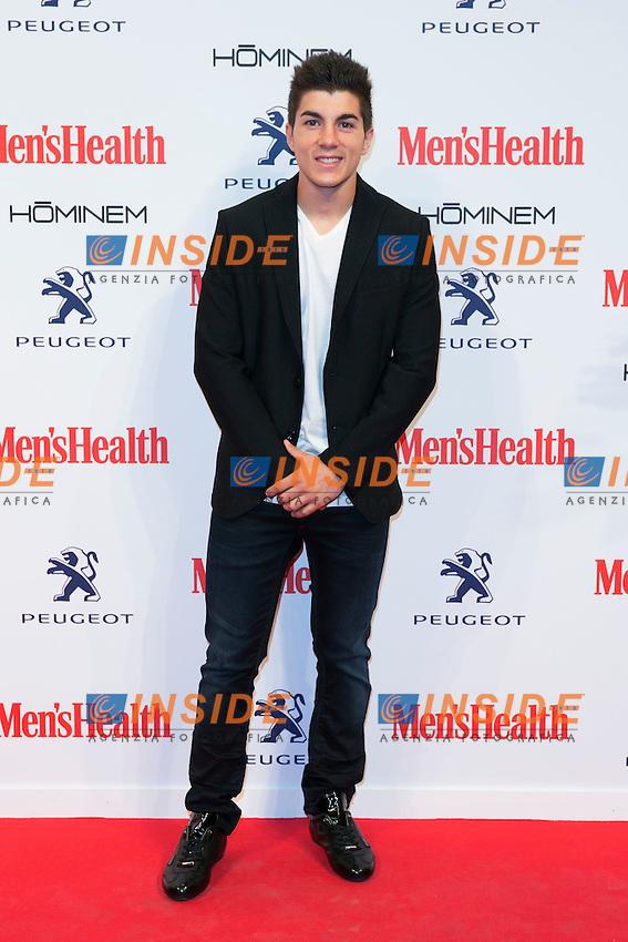 Maverik Vinales attend the MENS HEALTH AWARDS at Goya Theatre in Madrid, Spain. October 28, 2014. (ALTERPHOTOS/Carlos Dafonte/Insidefoto)