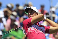 Jamie Lovemark (USA) tees off the 1st tee to start his match during Friday's Round 2 of the 117th U.S. Open Championship 2017 held at Erin Hills, Erin, Wisconsin, USA. 16th June 2017.<br /> Picture: Eoin Clarke | Golffile<br /> <br /> <br /> All photos usage must carry mandatory copyright credit (&copy; Golffile | Eoin Clarke)