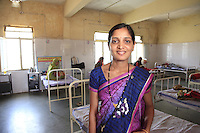 Chanchal is a breast-feeding counsellor at the Rajpur Community Health Centre, in a remote part of India's Madhya Pradesh state. She works with new mothers in this tribal district to train them how to breastfeed newborn children and encourages them to keep doing so. Cultural beliefs in this region dictate that children are not breastfeed from birth, which increases the risk of them becoming malnourished and stunted. Some tribal traditions mean that newborns and their mothers are fed nothing at all for three days after birth. Counsellors like Chanchal are working to change these beliefs and practices, thanks to support from the UK.
