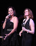 Linda Eder ('Jekyll & Hyde' Reunion) and Christiane Noll performing their show 'A New Life' at The Town Hall on October 13, 2012 in New York City.