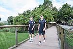 07.01.2019, Lion & Safari Park, Broederstroom, Kalkheuvel, RSA, TL Werder Bremen Johannesburg Tag 05<br /> <br /> im Bild / picture shows <br /> Jan-Niklas Beste (Werder Bremen #39), Ludwig Augustinsson (Werder Bremen #05), <br /> <br /> Teil der Spieler besucht am 5. Tag des Trainingslager eine geführte Tour im Lion & Safari Park, <br /> <br /> Foto © nordphoto / Ewert