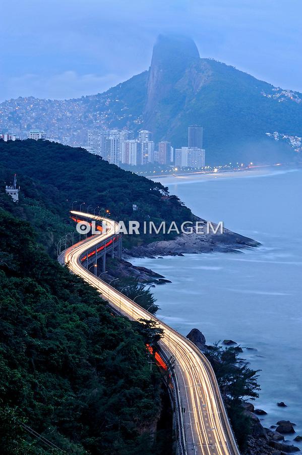 Viaduto do Joá.  São Conrado. Rio de Janeiro. 2008. Foto de Ricardo Azoury.