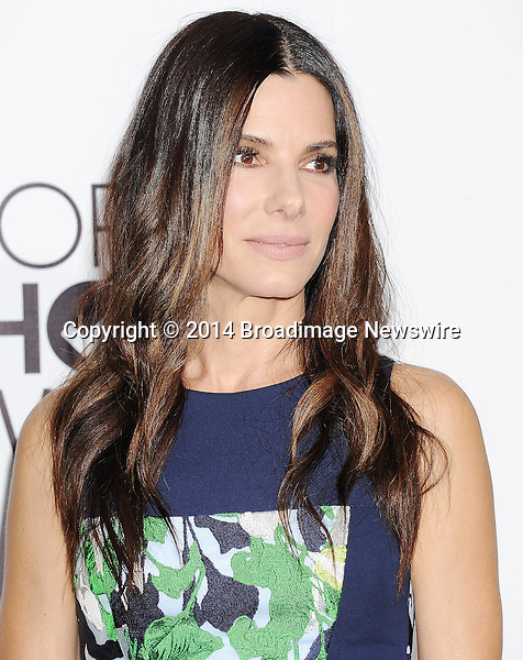 Pictured: Sandra Bullock<br /> Mandatory Credit &copy; Gilbert Flores /Broadimage<br /> 2014 People's Choice Awards <br /> <br /> 1/8/14, Los Angeles, California, United States of America<br /> Reference: 010814_GFLA_BDG_171<br /> <br /> Broadimage Newswire<br /> Los Angeles 1+  (310) 301-1027<br /> New York      1+  (646) 827-9134<br /> sales@broadimage.com<br /> http://www.broadimage.com