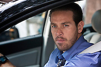 "In this episode of Breakout Kings, escaped inmate Benny Cruz (Kevin Alejandro) was serving a life sentence for the murder of two rival gang bangers. Diagnosed with an aggressive cancer, he's decided to try and do some ""good"" with what time he has left.  Photo: Skip Bolen / A&E Television Networks"
