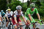 Tony Martin (GER) Katusha Alpecin chats with Green Jersey Marcel Kittel (GER) Quick-Step Floors during Stage 10 of the 104th edition of the Tour de France 2017, running 178km from Perigueux to Bergerac, France. 11th July 2017.<br /> Picture: ASO/Alex Broadway | Cyclefile<br /> <br /> <br /> All photos usage must carry mandatory copyright credit (&copy; Cyclefile | ASO/Alex Broadway)