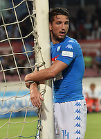 Dries Mertens  during the friendly soccer match,between SSC Napoli and Onc Nice      at  the San  Paolo   stadium in Naples  Italy , August 01, 2016<br />  during the friendly soccer match,between SSC Napoli and Onc Nice      at  the San  Paolo   stadium in Naples  Italy , August 02, 2016