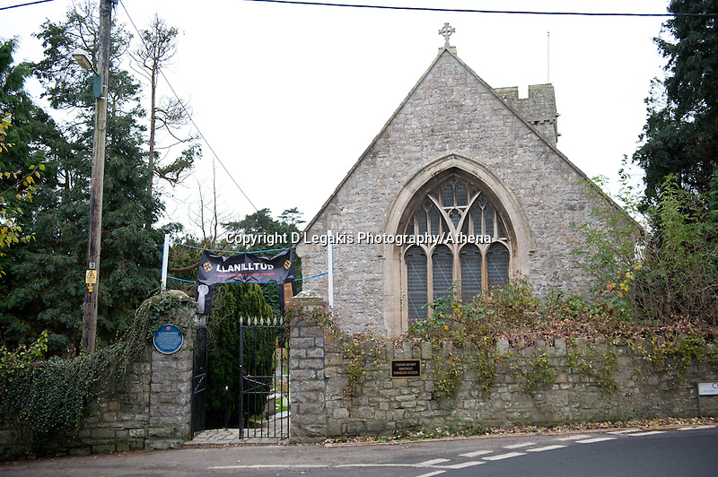 Thursday 28 November 2013<br /> Pictured: St.Illtysd's church in Llandwit Major <br /> Re: Builder Lee Mayes