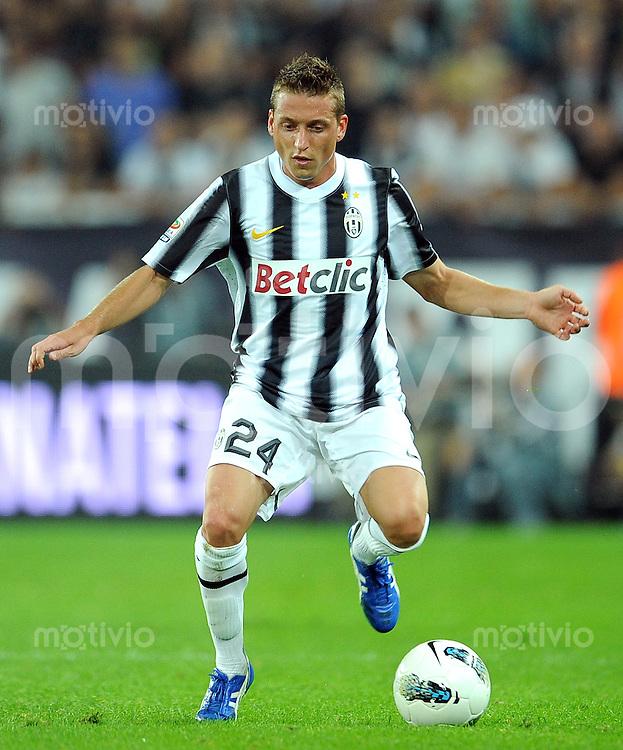 FUSSBALL INTERNATIONAL   SERIE A   SAISON 2011/2012    Juventus Turin - AC Mailand  02.10.2011 Emanuele Giaccherini (Juventus Turin)