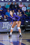 Carly Jimenez (11) of the High Point Panthers during the match against the Liberty Flames at the Millis Athletic Center on September 23, 2016 in High Point, North Carolina.  The Panthers defeated the Flames 3-1.   (Brian Westerholt/Sports On Film)