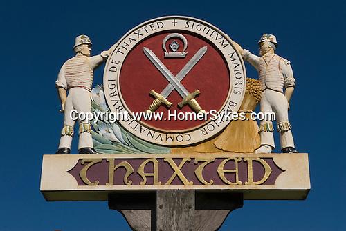 Thaxted Village Sign Morris Men Essex village