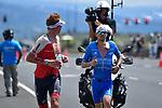 KAILUA-KONA, HI - OCTOBER 13:   The 2018 IRONMAN World Championships in Kailua-Kona, Hawaii on October 13, 2018. (Photo by Donald Miralle for IRONMAN)