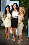 HOLLYWOOD, CA. - September 26: Vanessa Hudgens, Susie Castillo and Hayden Panettiere arrive at the Neutrogena Fresh Faces of Music Benefiting VH1 Save The Music at Jim Henson Studios on September 26, 2009 in Hollywood, California.