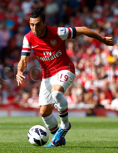 15.09.12 London, ENGLAND: ..Santi Cazorla of Arsenal..during the Barclays Premier League match between Arsenal and Southampton at Emirates Stadium, London  ......