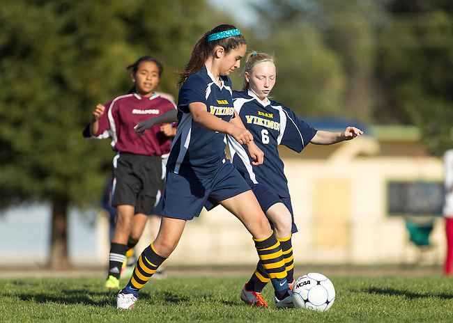 Egan 7th Grade Girls soccer vs. Columbia at Egan Jr. High field, March 5, 2015