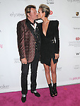 Johnny Hallyday and Laeticia Hallyday at 6th Annual Pink Party held at Drai's at The W Hotel in Hollywood, California on September 25,2010                                                                               © 2010 DVS / Hollywood Press Agency